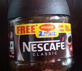 Nescafe Classic Coffee 25 gm + Maggi Free